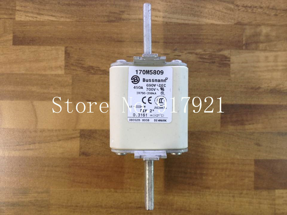 [ZOB] The United States Bussmann 170M5809 BUSS 450A 690V fuse fuse