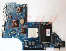 for hp dv6 dv6-6000 laptop motherboard 665280-001 ddr3 Free Shipping 100% test ok