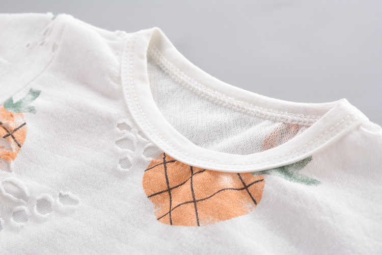 Chłopięce letnie ubrania zestaw dziecięcy bawełniany O-neck T-shirt + spodnie 2 szt. Chłopcy moda letnie ubrania z nadrukami garnitur dla 1-5Y