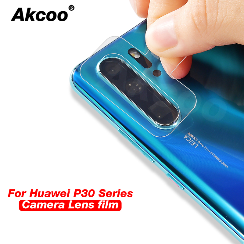 Akcoo P30 camera lens protector 0.2mm thickness flexible glass for Huawei Pro mate 20 P20 pro lite