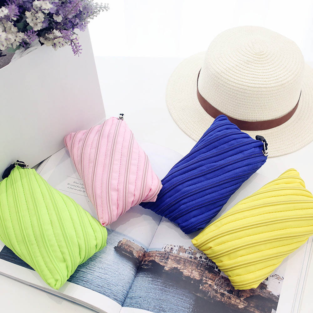Ulrica Women Handbag Large Capacity Coin Pocket Multi-Functional Storage Bag Simple Design Wallet 4 Colors Freeshipping Dec 07