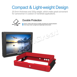 Image 5 - Lilliput A7s 7 인치 1920x1200 HD IPS 스크린 500cd/m2 카메라 필드 모니터 DSLR 미러리스 카메라 용 4K HDMI 입력 출력 비디오