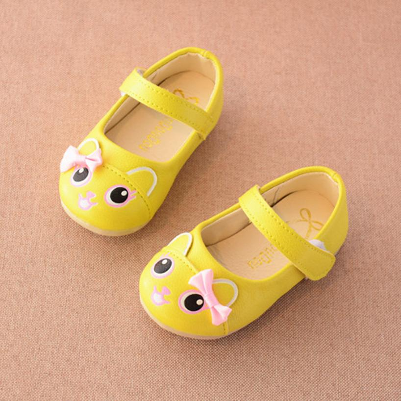 Baby Shoes 2017 Fashion Toddler Kids Children Sandals Fashion Cartoon Baby Girls Pricness Shoes D50