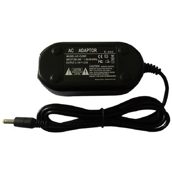 High Performance Power Supply Adapter Charger Cord Cable Kit Black Durable E-8AC for Olympus E-7AC D-580 D-595 D-575 D-565