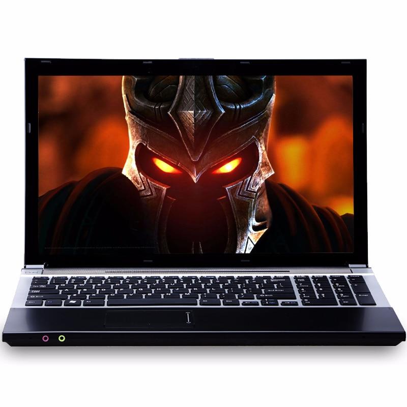 15.6 pouces Intel Core i7 8 gb RAM 1 tb HDD Windows 7/10 Système DVD RW RJ45 Wifi Bluetooth Fonction course rapide Ordinateur Portable Ordinateur Portable