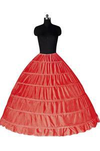 Image 5 - Biały 6 Hoops halki dla suknia ślubna krynolina podkoszulek tanie ceny akcesoria ślubne dla Brial suknia balowa