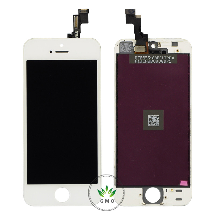 White Black LCD Display with font b Touch b font Digitizer Assembly Tool Set For iPhone