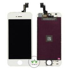 Blanco/negro pantalla lcd con el digitizador assembly + conjunto de herramientas para el iphone 5s pantalla lcd