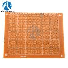 Tablero Universal de circuito impreso de un solo lado, placa de circuito de placa de cobre de baquelita, Kit DIY, 5 uds., 7x9, 7x9cm