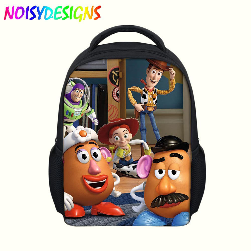56fecf678ee Toy Story toy story woody Backpack Children zipper Schoolbag in school Bags  For Kids Girls Boys Toddler Baby Bag mochila escolar