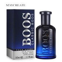 50 мл классический одеколон с прочным свежим ароматом, мужской парфюм