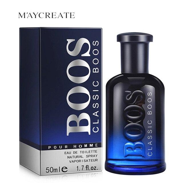 MayCreate 50ml Sexy Men Perfume Classic Cologne lasting Fresh Fragrance Makeup Male Perfume Men Spray Glass Bottle Perfumes
