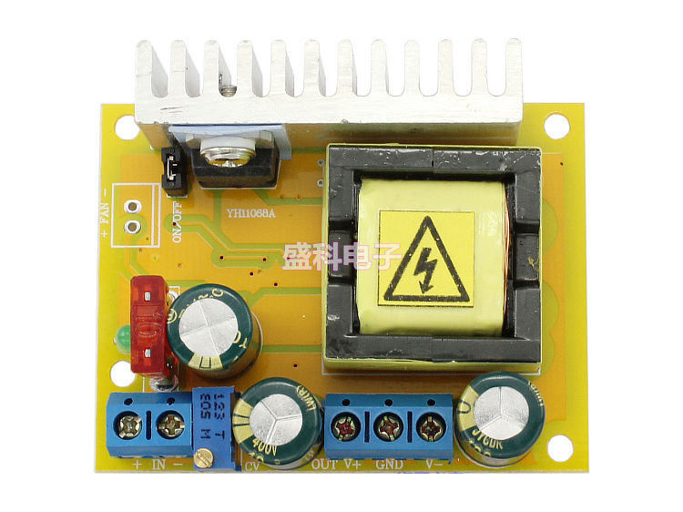 High Voltage Capacitor Charging Circuit