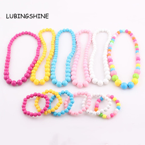 NEW Candy Color Children Necklace Jewelr