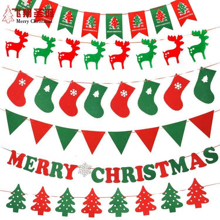 adornos para rboles de navidad banderas bandern bandera de la navidad de jardn de infantes