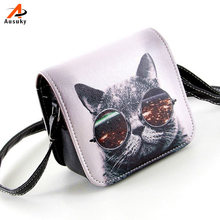 Ausuky Casual Vintage Cat ผู้หญิงกระ(China)