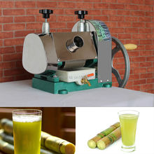 Stainless steel manual mini sugarcane machine for home, sugarcane juice extractor, sugar cane juicer, sugarcane juice machine