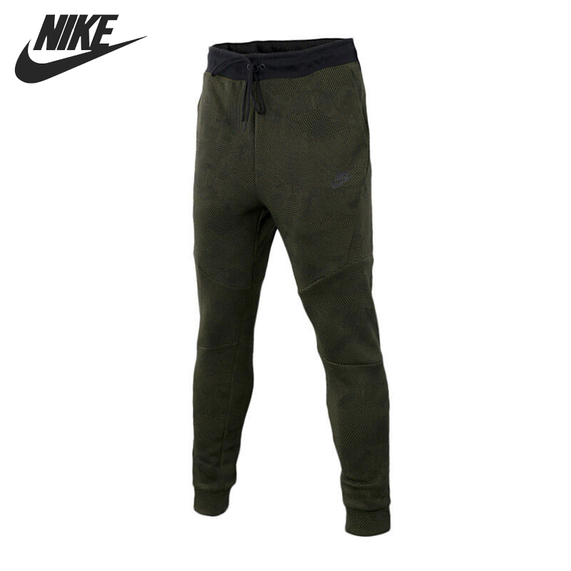 Original New Arrival NIKE AS M NSW TCH FLC JOGGER AOP Men's Pants Sportswear f drawstring spliced camo jogger pants