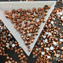 Good Quality Rose Gold DIY Strass Crystal ss3-ss34 Non HotFix Nail Art Flatback Rhinestones for Clothes Decorations
