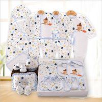 100 Cotton Brand Newborn Baby Set Long Sleeve Thick Autumn And Winter Cartoon Fashion Baby 0