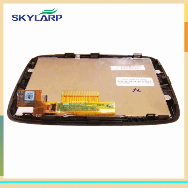 skylarpu 4.3 inch LCD Screen for TomTom GO 400 display screen panel with Touch screen digitizer Repair replacement skylarpu 5 inch for tomtom xxl iq canada 310 n14644 full gps lcd display screen with touch screen digitizer panel free shipping