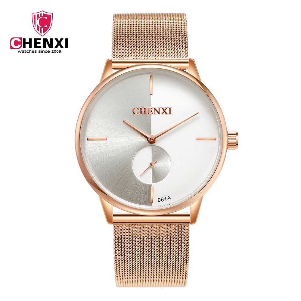 CHENXI Luxury Brand Wrist Watches Women 30M Daily Waterproof Watches Fashion Women Business Watch Steel Watchband Female Clock Наручные часы