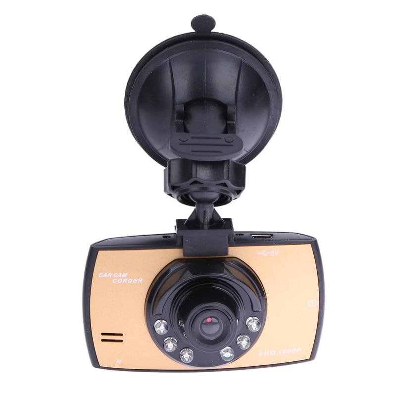"""imágenes para 2.4 """"lcd auto car dash cámara del coche dvr 120 grados de ángulo ancho recorder motion night vision detección g-sensor sensor swe #"""