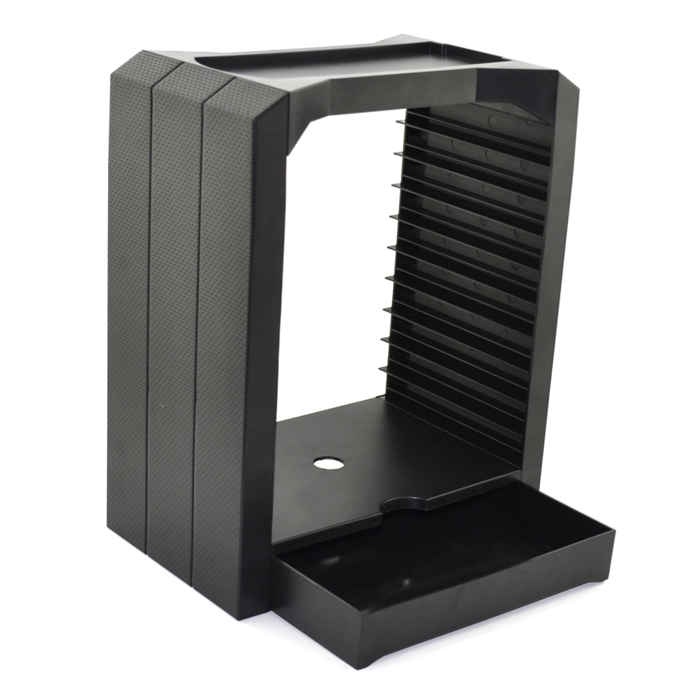xunbeifang 50pcs DiscStorage Multifunctional Universal Games & Blu Ray Disc Storage Tower for Xbox One for PS4
