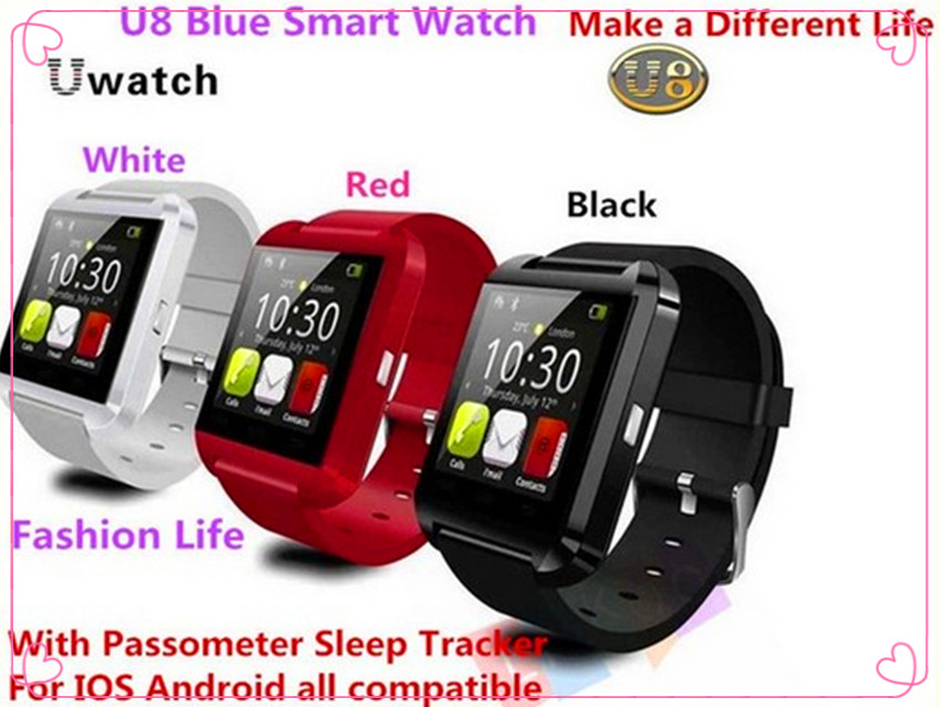 2015 NEW Bluetooth Smart Watch WristWatch U8 U Watch font b Smartwatch b font Sports Wrist
