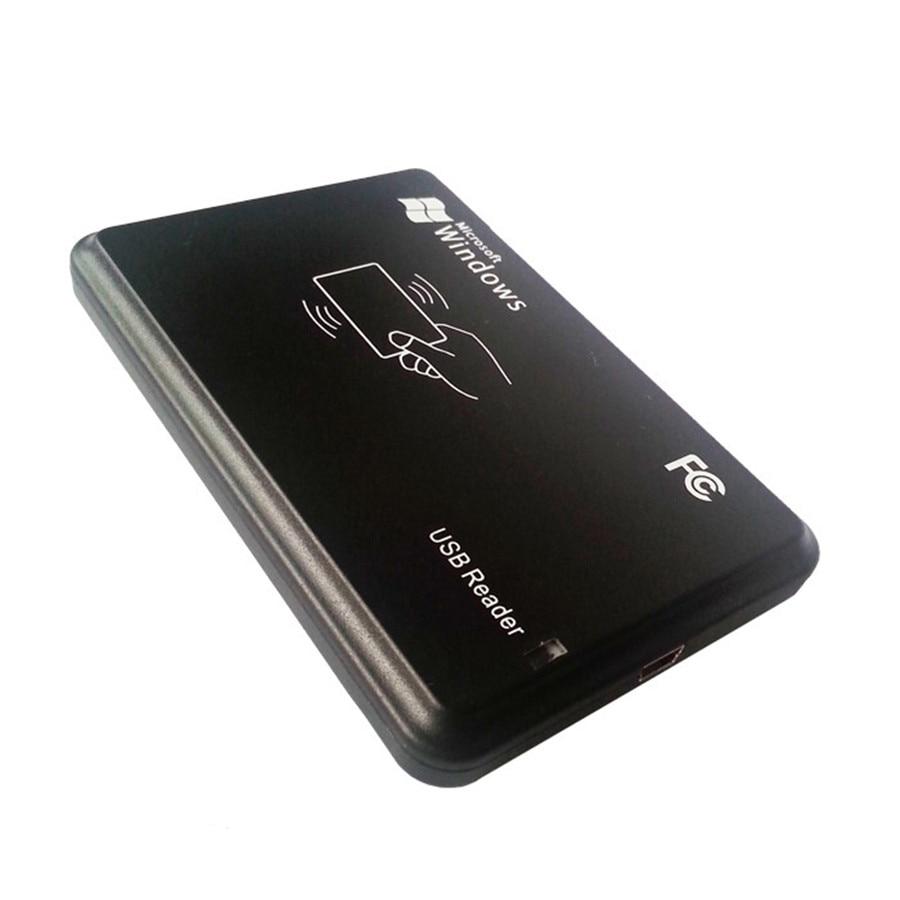 125KHz RFID ID EM4100 EM4305 T5577 Card USB Reader/Writer/Copier/Programmer FREE Rewritable Keyfob Copy ISO With 5pcs keytags