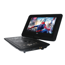 LONPOO 10.1-Inch Portable DVD Player TFT Screen USB SD Card Swivel Screen Rechargeable Battery GAME TV CD/ MP3/MP4 Player