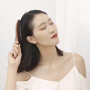 Image 2 - Youpin xinzhi pente elástico de massagem, escova de cabelo portátil para relaxar, escova mágica para cabeça