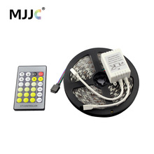 5 м 300 Светодиодные ленты свет затемнения 12 В DC теплый для холодный белый cct регулируемый гибкая светодиодная лента комплект для Домашние Освещение
