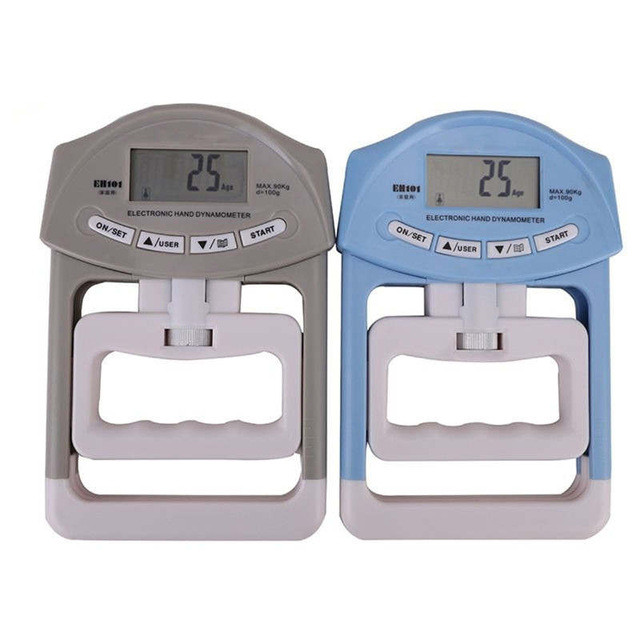 Электронный ручной динамометр цифровой Ручной Захват динамометр ручной захват измеритель силы автоматический захват ручной захват мощность 200 фунтов/90 кг