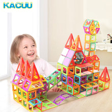 135pcs Big Size Magnetic Constructor Set Kids DIY Magnetic Blocks Model & Magical Magnet Toy Educational Toys For Children Gifts(China)