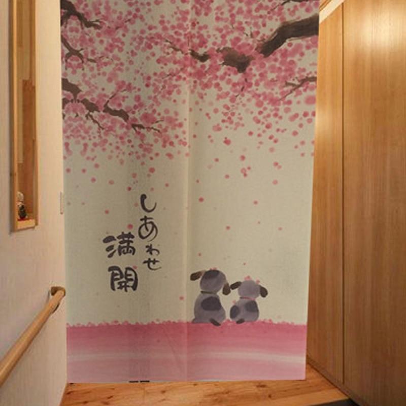 Achetez en gros japonais porte rideau en ligne des for Rideau decoratif porte
