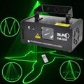 Дистанционного 50 МВт Зеленый Лазерный Проектор Профессиональный Сценический Эффект Освещения DMX 512 Сканер Диско DJ Party Света Выставки