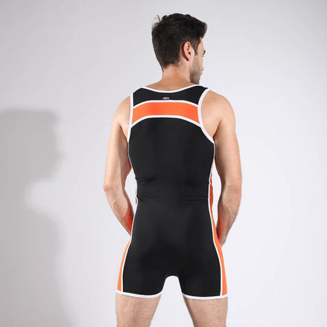 ff1a44eae741b Men Bodysuit Man Slimming One Piece Wrestling Shapewear Gay Seamless Body  Shaper Underwear