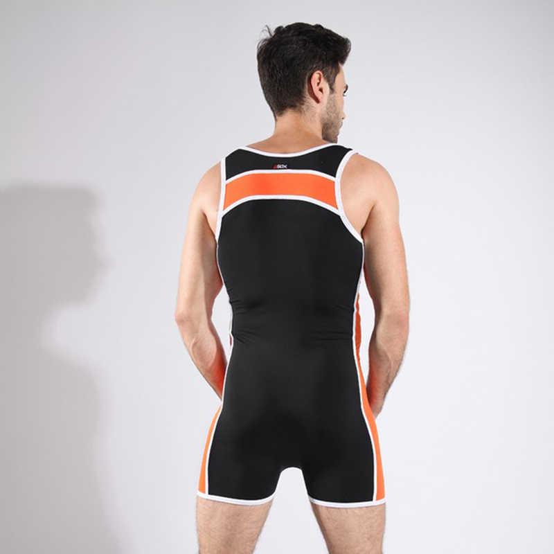... Men Bodysuit Man Slimming One Piece Wrestling Shapewear Gay Seamless Body  Shaper Underwear  ... db4fd03ca