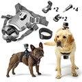 Fetch Собака Жгут Нагрудный Крепление для Gopro Hero HERO 5/4/3 3 + 2 Черный Серебристый Сессии SJ4000 SJ5000 SJ6000 H9R H9