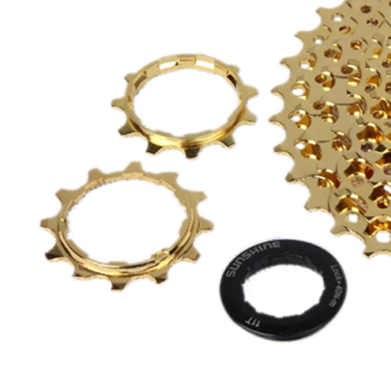 Culoare de aur cu 10 viteze 11-36T Mountain Bike Casetă Volantă - Ciclism - Fotografie 6