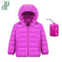 HH 1-14Y Trẻ Em của xuống áo khoác tuyết mặc áo khoác dành cho cô gái Trẻ Sơ Sinh bé trai áo khoác ngoài tuổi teen áo khoác Trùm Đầu trẻ em mùa đông áo khoác
