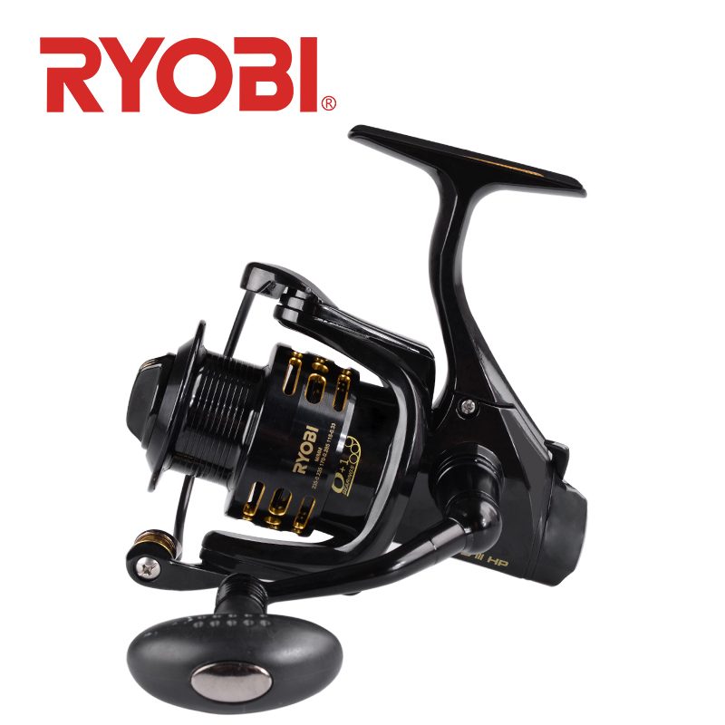 18original RYOBI Sipnning fishing reels XENOS III HP metal spool Saltwater Wheel 6 1BB Anti corrosion