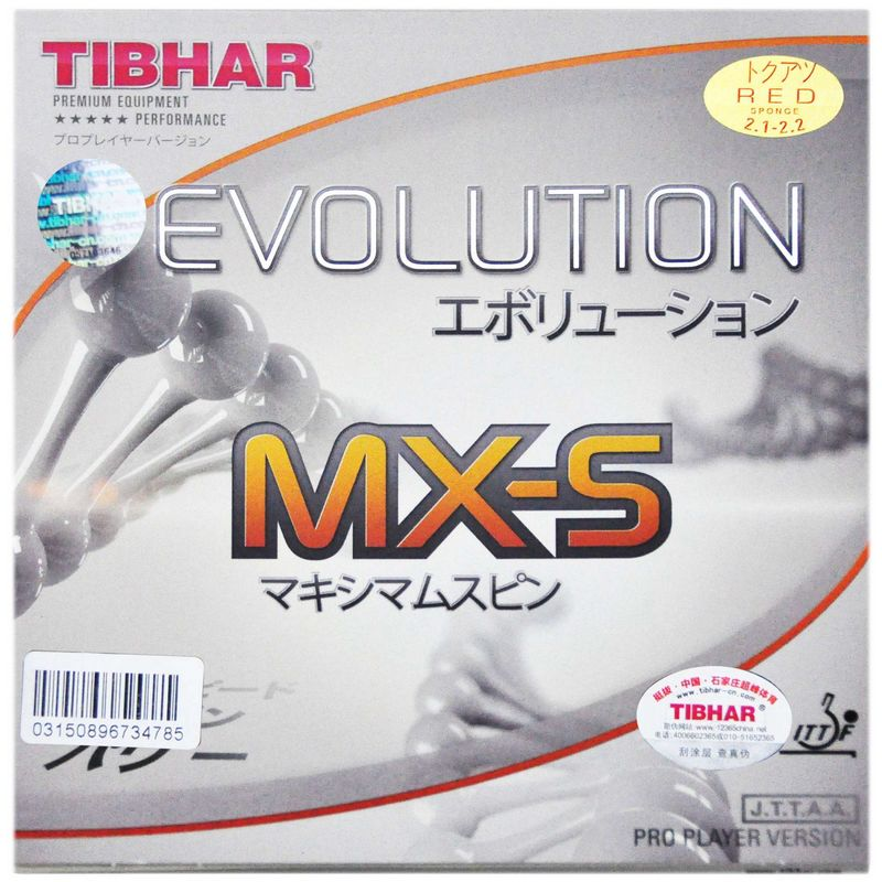 Tibhar Evolution Pro Mx s el s fx s Table Tennis Rackets Rubber Racquet Sports Fast