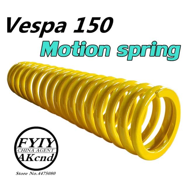 Vespa primavera 150 sprint 150 용 오토바이 쇼크 업소버 모션 스프링 프론트 쇼크 업소버 스프링