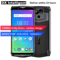 Ulefone Power 5s 6.0FHD 13000mAh 5V/5A Quick Charge MTK6763 Octa Core P23 4GB+64GB Android 8.1 21MP Dual Back Cams SmartPhone