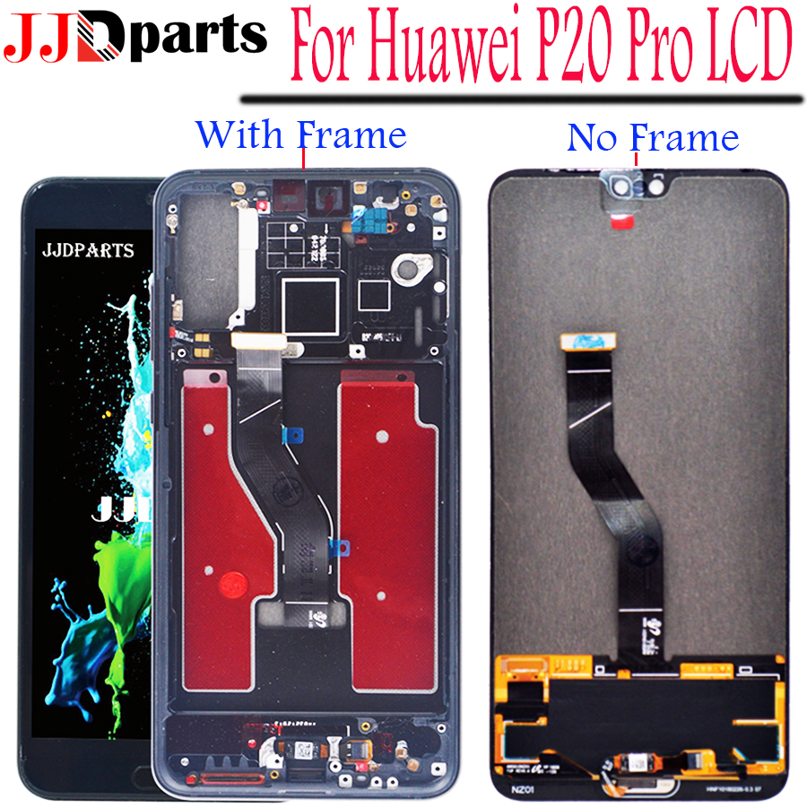 Huawei P20 Pro LCD Display Touch Screen Digitizer Assembly P20 Pro display with frame 6.1 For Huawei p20 pro screen ReplacementHuawei P20 Pro LCD Display Touch Screen Digitizer Assembly P20 Pro display with frame 6.1 For Huawei p20 pro screen Replacement