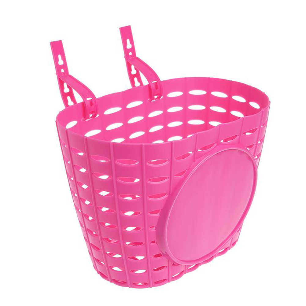 children/'s bike basket plastic bicycle bag kids scooter handle bar basket TSCP9
