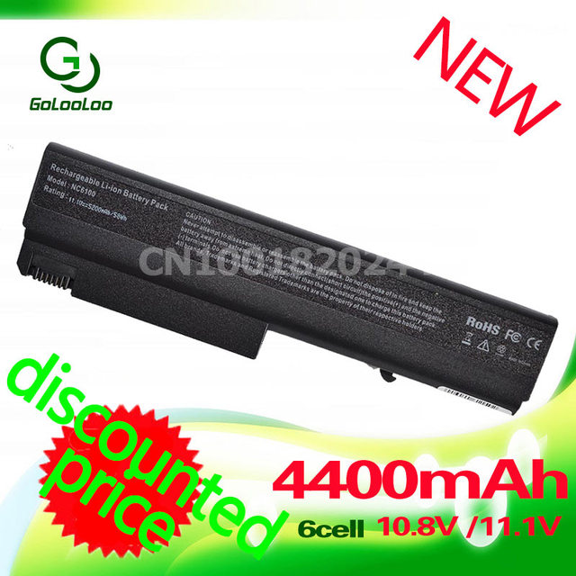 Golooloo nc6100  Laptop Battery For Hp 6910p NC6110 NC6120 NC6200 NX6100 NC6220 NX5100 NX6120 NX6140 NX6310 NX6320