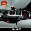 Frete grátis JUKE Esteira Do Copo Do Carro/Acessórios Do Carro Almofada Ranhura Portão Pad porta almofada luminosa Não-Slip Interior mat pad/copo porta 11 pçs/set